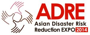 Asian Disaster Risk Reduction Expo in 2014
