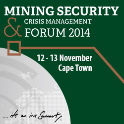 Mining Security & Crisis Management 2014 Forum
