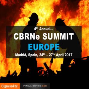 4th annual CBRNe Summit Europe
