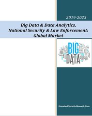 Big Data and Data Analytics Homeland Security 2019-2023
