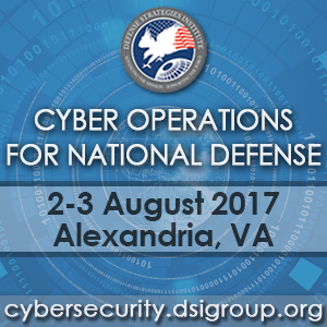 14th Annual Cyber Operations for National Defense Symposium