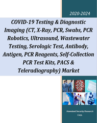 1. COVID-19 Testing & Diagnostic Imaging (CT, X-Ray, PCR, Swabs, PCR Robotics, Ultrasound, Wastewater Testing, Serologic Test, Antibody, Antigen, PCR Reagents, Self-Collection PCR Test Kits, PACS & Teleradiography) Market - 2020-2024