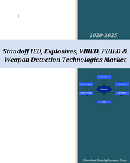 Standoff IED, Explosives, VBIED, PBIED & Weapon Detection Technologies Market - 2020-2025