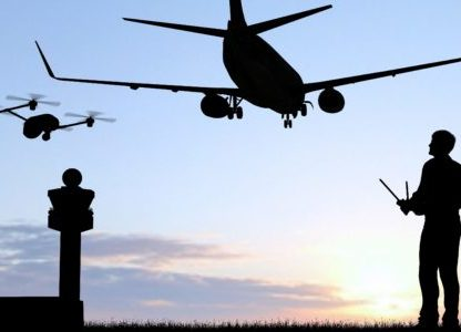 drones in airports