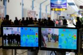 Airport are using thermal imaging to check passengers for COVID-19