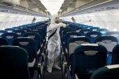 Airplane cleaning COVID-19