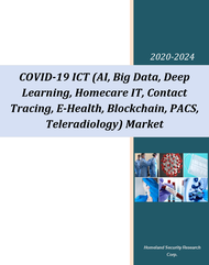 COVID-19 ICT (AI, Big Data, Deep Learning, Homecare IT, Contact Tracing, E-Health, Blockchain Technologies, PACS, Teleradiology, Other ICT) Market