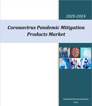 Coronavirus pandemic products market cover
