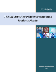 The UK COVID-19 pandemic mitigation market 2020-2024 cover page